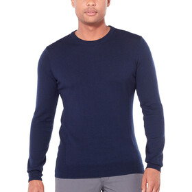 Icebreaker Shearer Crew Sweater Herren midnight navy